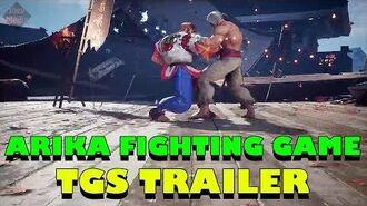 ARIKA Fighting Game Trailer - Allen Snider Gameplay! (TGS 2017)