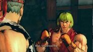 Super Street Fighter IV AE - Ryu's Alternate Rival Cutscene English Ver
