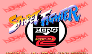 Street Fighter Zero 2 Alpha Title