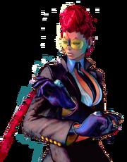 Character select portrait Crimson Viper SFIV