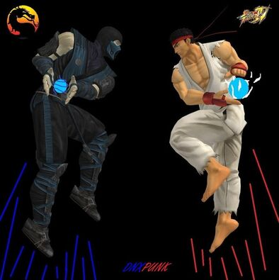 Subzero vs ryu by dnxpunk-d45x3rc