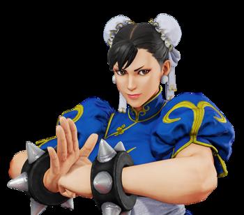 'Chun-Li' from the popular video game 'Street Fighter'