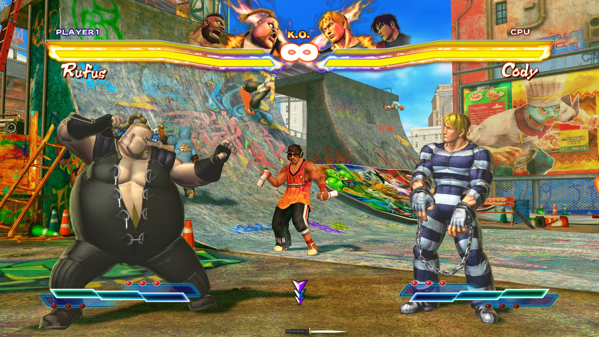 SFXT Half Pipe 1F.jpg & Image - SFXT Half Pipe 1F.jpg | Street Fighter Wiki | FANDOM powered ...