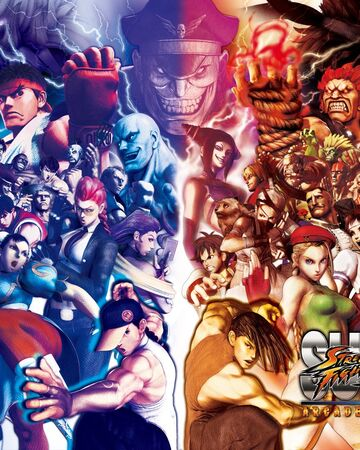 Super Street Fighter Iv Arcade Edition Street Fighter Wiki Fandom