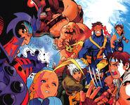 X-Men vs Street Fighter-Bengus