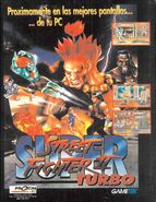 Super street fighter ii turbo promo-esp
