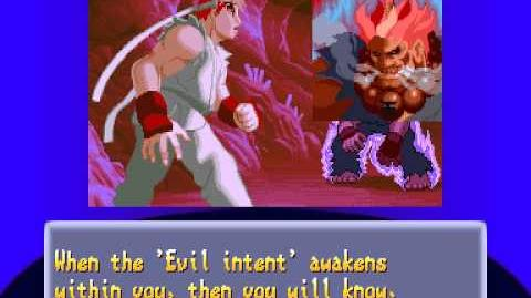 Street Fighter Alpha 2 - Ryu Ending