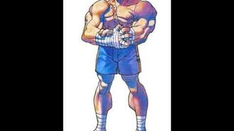 Street Fighter Alpha Warriors' Dreams-Sagat Stage
