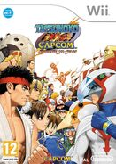 Tatsunoko vs Capcom -- Ultimate All-Stars (cubierta europa)