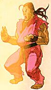 Dan Hibiki (MvC2 Hyper combo)