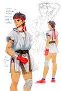 SFIV PC Concept Art Sakura 05