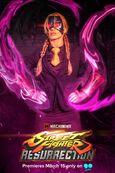 Decapre in Street Fighter Resurrection promo