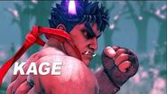 Street Fighter V- Arcade Edition - Kage Reveal Trailer