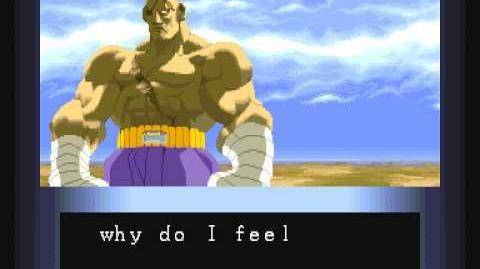 Street Fighter Alpha Sagat Ending