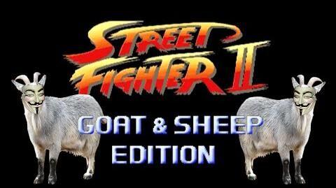Street Fighter Goat & Sheep Edition - Marca Blanca