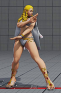 SFV Karin Summer Hidden Costume Easter Egg