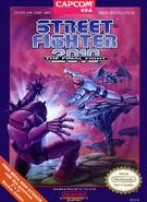Street Fighter 2010 (NES - cubierta América del Norte)