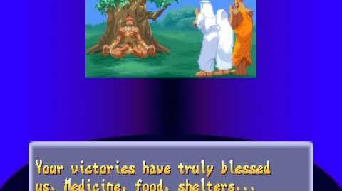 Street Fighter Alpha 2 Dhalsim Ending
