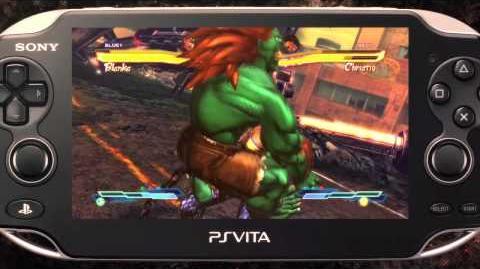 Street Fighter X Tekken PlayStation Vita Trailer