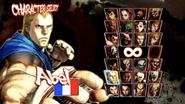 SFIV character select screen