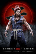 Street Fighter-- Assassin's Fist - poster - Akuma (Joey Ansah)