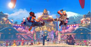SFV Ring of Pride Ryu vs Guile