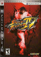 Street Fighter IV Collecors Edition (PS3 - América del norte)
