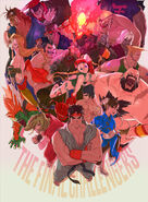 Ultra Street Fighter II The Final Challengers-Bengus
