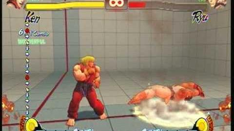 Street Fighter 4 Ken - Super Shoryureppa