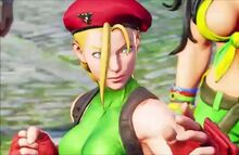 Cammy battle