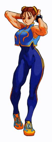 Chun-Li (XvSF Alpha)