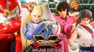 Street Fighter V Arcade Edition - NEW PREMIUM COSTUMES ,Rashid's acrobatic ,Chun Li June and more