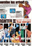 SF III 2nd Impact - arcade flyer characters B