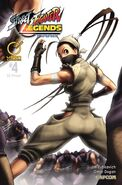 Street Fighter Legends - Ibuki 4 A UDON comic - cover