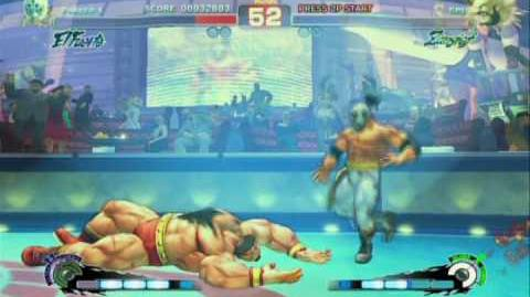 Super Street Fighter 4 El Fuerte Rival Match