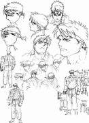 Ryu-nice-sketches1