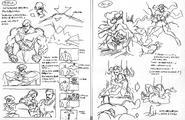 SFA-Sagat & Rose ending storyboard