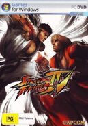 Street Fighter IV (PC - cubierta Australia)