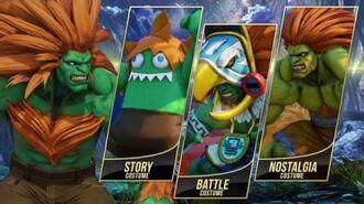 Street Fighter V Arcade Edition - Blanka Gameplay Trailer