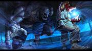 Akio (Ryu SFII - 1 Straight Victory No Continues)