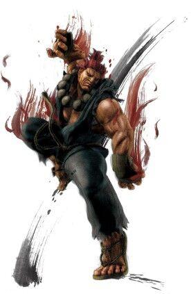 Akuma Street Fighter Vs Mortal Kombat Wiki Fandom