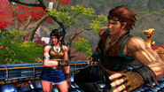 Julia Chang Hwoarang Street Fighter X Tekken