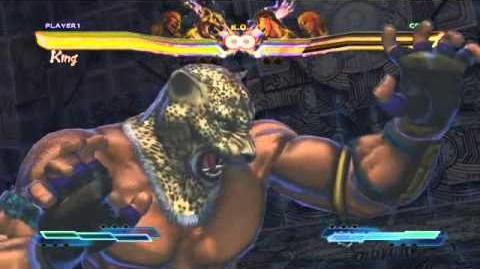 King's Super Art and Cross Assault in Street Fighter X Tekken