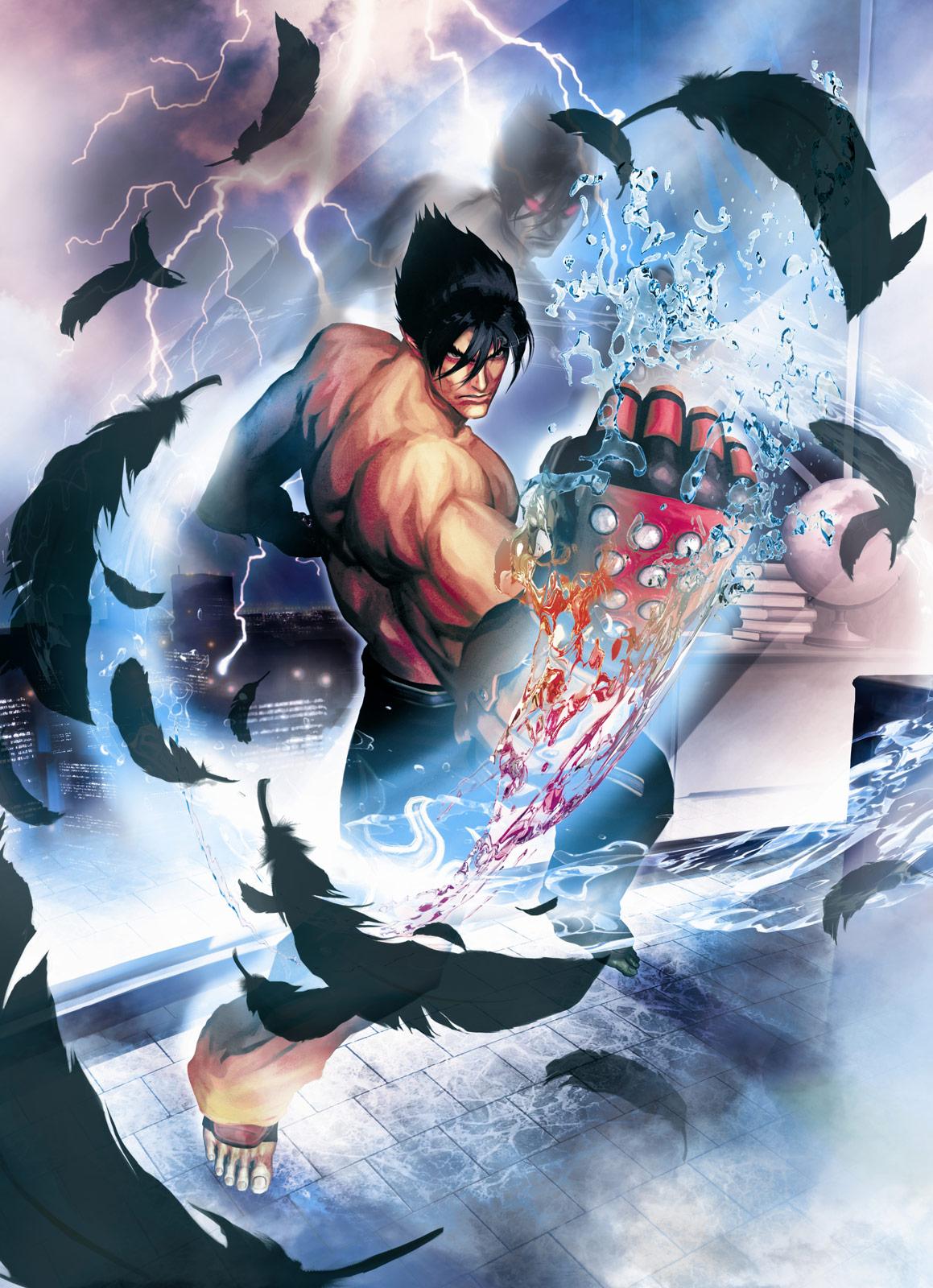 jin kazama flawless figure street fighter x tekken wiki fandom