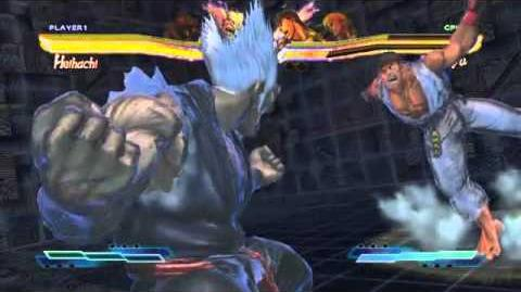 Kuma's Super Art and Cross Assault in Street Fighter X Tekken