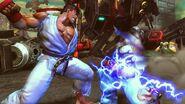 Kazuya y Ryu apunto de combatir