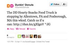 DD Hearty Snacks Food Truck