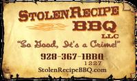 Stolen Recipe BBQ logo