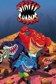Street Sharks Cover
