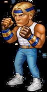 Axel Stone Battle Pose SEGA Heroes